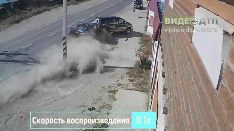 Авария. Северобайкальск. Магазин Мельник (13.09.2017) | ДТП авария