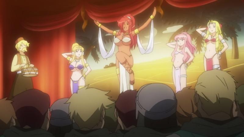 [SHIZA] Подручный бездарной Луизы (3 сезон) / Zero no Tsukaima - Princess no Rondo TV3 - 11 серия [Dancel Лизавета] [2008]