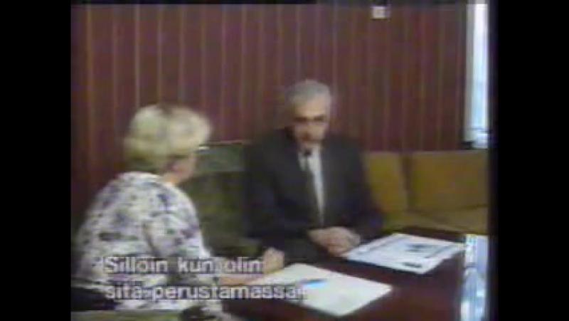 პრეზიდენტ ზვიად გამსახურდიას ინტერვიუ ფინეთის ტელევიზიას