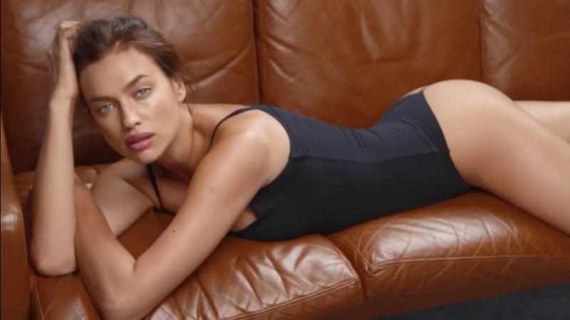 Irina Shayk for Intimissimi Comfort Modal 2018 ad campaign