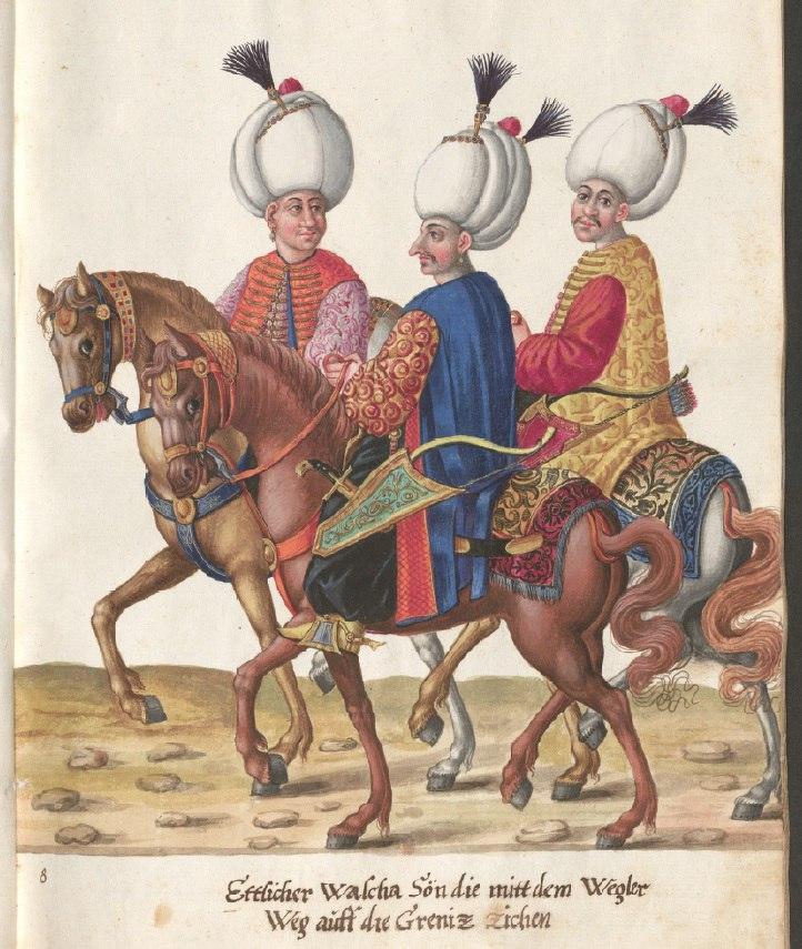 Картины турецкой жизни конца XVI века