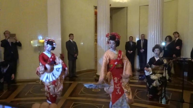 9 февраля в Эрмитаже танцуют японки