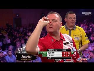 Glen Durrant vs Dave Chisnall (Grand Slam of Darts 2017 / Round 2)