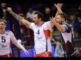 Обзор 24-го тура чемпионата России по волейболу среди мужских команд / 720p