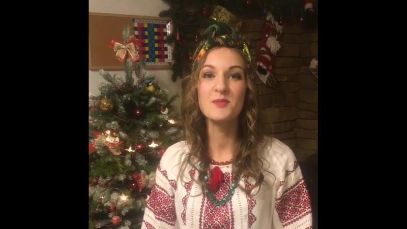 Слингомама России 2017 — Дарья Тельтевская поздравляет всех с Новым годом!