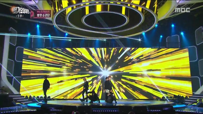 [2015 MBC Music festival] 2015 MBC 가요대제전 - BTS - I Need U RUN, 방탄소년단 - I Need U RUN 20151231.mp4