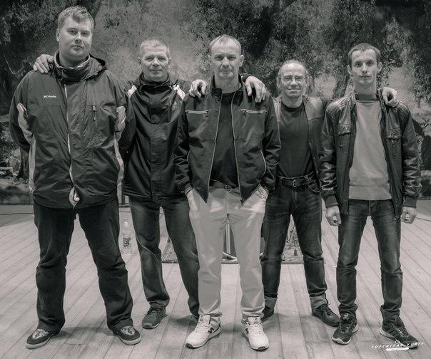 Текущий состав,слева направо: Сергей Баранников, Александр Колмыков, Владимир Заиндинов, Николай Андриянов, Кирилл Агеев