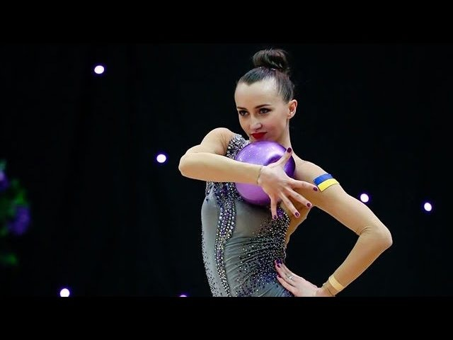 Miss Valentine 2016 RG Senior - Ganna Rizatdinova (UKR) Ball
