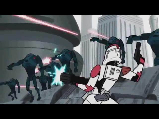Star Wars The Clone Wars (2003) [AMV/Tribute] - Hero - Skillet