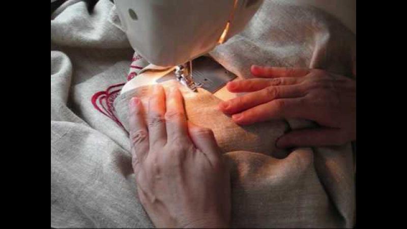 Изготовление стилизованной мужской рубахи-голошейки
