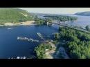 Самара пос Волжский Полет коптера от ЖК Царевщина до Сокского моста 22 07 4k