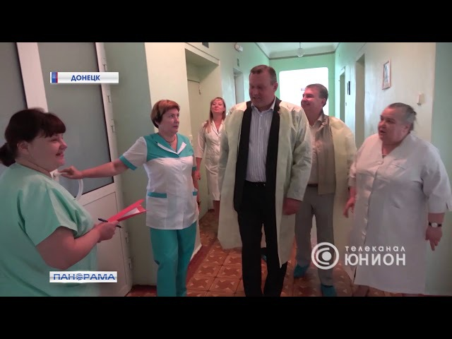 Алексей Кулемзин посетил родильное отделение ЦГКБ №24. 29.08.2017, Панорама