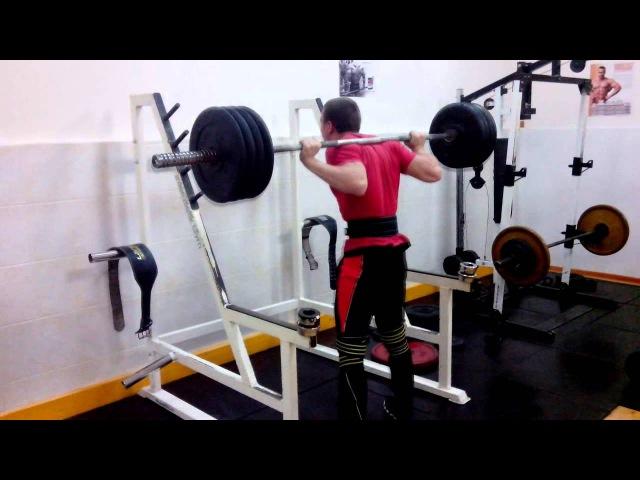 присед 170х3 squat 170х3 (kg)