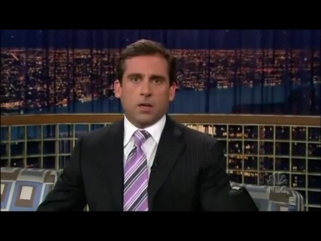 Steve Carell - Joyless Laughing Guy