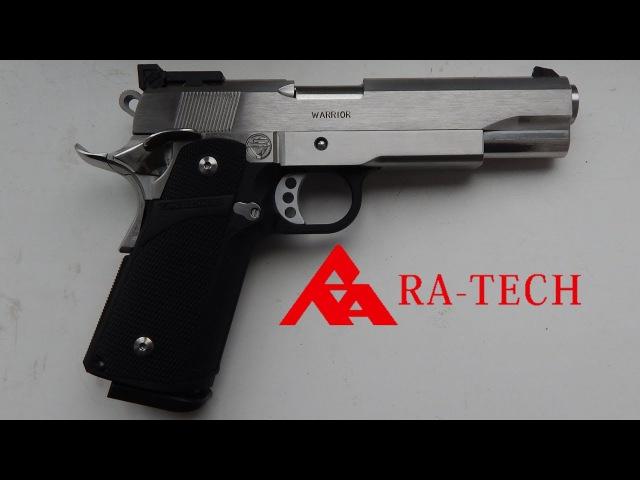 Пистолет RA Tech Hi Capa 5 1 Шедевр из нержавеющей стали