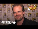 'Stranger Things' At Comic-Con: David Harbour On New Trailer & Emmy Nomination | Access Hollywood