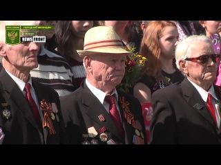 Стаханов отметил 74-ю годовщину освобождения от немецко-фашистских захватчиков