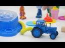Поиграйка с Катей - Развивающее видео для детей лепим из пластилина Плей до и гот...