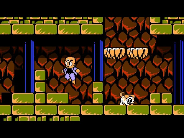 Mitsume Ga Tooru (Three-eyed One) from NES (Famicom) Lost levels. Remake