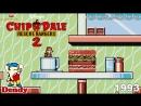 Чип и Дейл спешат на помощь 2 Денди 1993 Прохождение на русском Chip and Dale Rescue Rangers 2 NES