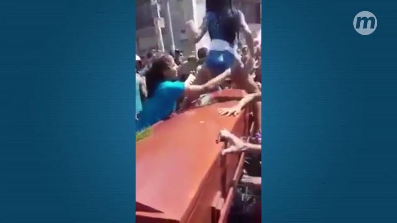 Веселые похороны в Бразилии