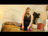 Lyla Ashby striptease black pantyhose