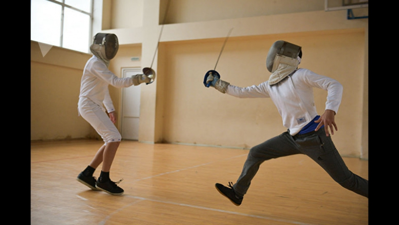 Школа фехтования в Гагре