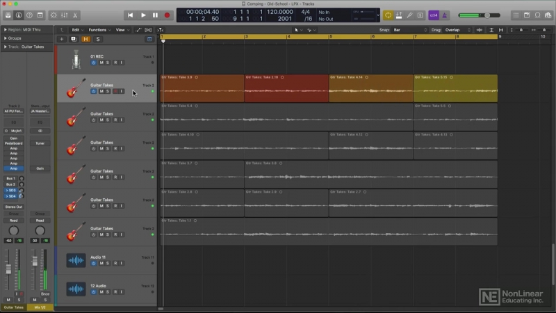 MacProVideo - Logic Pro FastTrack 205 Tracks and Alternatives