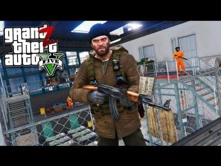 [GHOST] GTA 5 Зомби Апокалипсис - БАЗА ВЫЖИВШИХ В ТЮРЬМЕ В ГТА 5 МОДЫ #10! РЕАЛЬНАЯ ЖИЗНЬ ОБЗОР МОДА GTA 5