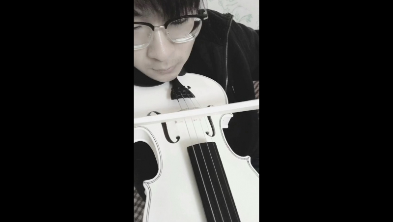 I don't know how to play the violin