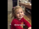 Cute little girl Nyah Rose Lee naming Manchester United players