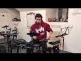 Drum cover на клубную музыку)