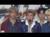 180111 BTS won Bonsang on Album Division @ 32nd Golden Disk Awards
