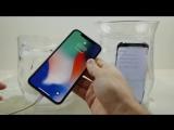 Тест на заморозку iPhone X vs Samsung Galaxy S8