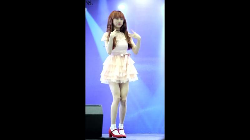 160101 Infinity Challenge Expo| OH MY GIRL - Cupid [Jine focus]
