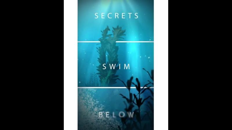 Инстаграм «Секреты плавают на глубине»