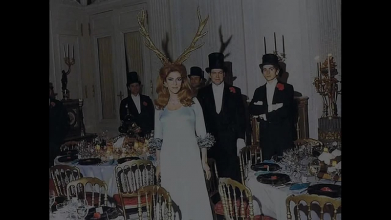Bilder vom Rothschild-Illuminati-Ball 1972 _ Бал у Ротшильдов.