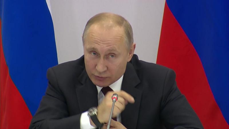 Путин встретился с участниками Форума малых городов и исторических поселений