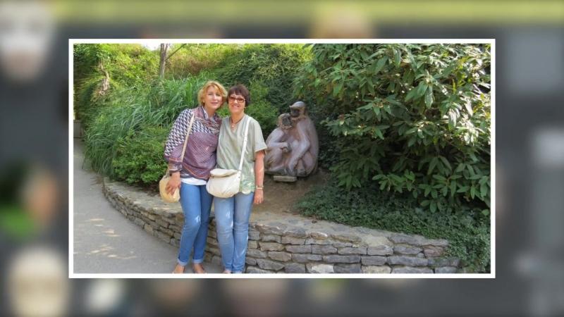 Пражский зоопарк-Братья наши старшие