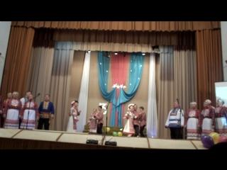Юбилей ДК 2017. Шунды жужа. Народный фольклорный коллектив ДЫДЫКСИН