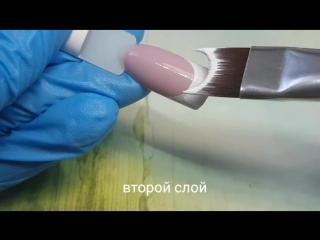 Краткая видеоинструкция по скоростному рисованию френча
