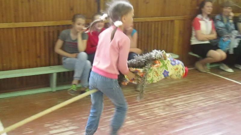 Соревнования в школьном лагере