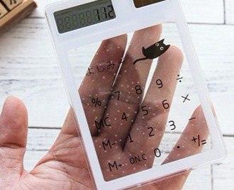 Прикольный Прозрачный Калькулятор