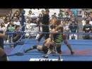Manabu Soya, Rikiya Fudo, Ryouji Sai vs. Jun Akiyama, Shuji Ishikawa, Takao Omori AJPW Royal Road Tournament 2017 - Day 2