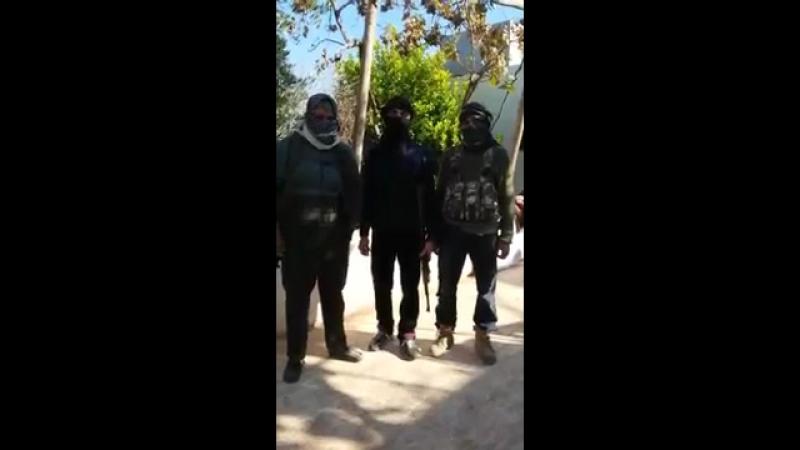 Обращение товарища Абу аль-Бараа, командира Леон Седов бригады в международный день политических заключённых 12.12.2015