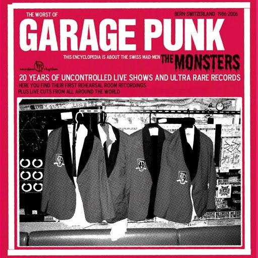 The Monsters альбом Garage Punk from Bern Switzerland 1986-2006, Pt. 1 (Live)