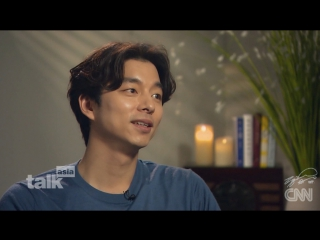 [ч2] [РУС. САБ] Gong Yoo reflects on his favorite roles - Gong Yoo on becoming South Korea's leading man for CNN Talk Asia