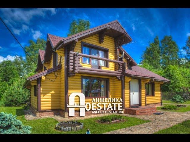 Коттедж в деревне Васкелово Купить дом в Ленинградской области