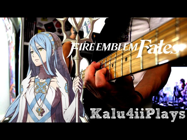 Fire Emblem Fates - Lost in Thoughts All Alone / Azura's Song (Rock/Metal Cover) || Kalu4ii Plays