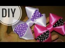DIY Cute Bow 6 🎀 Tutorial Bros Simple By Lista Tsurayya